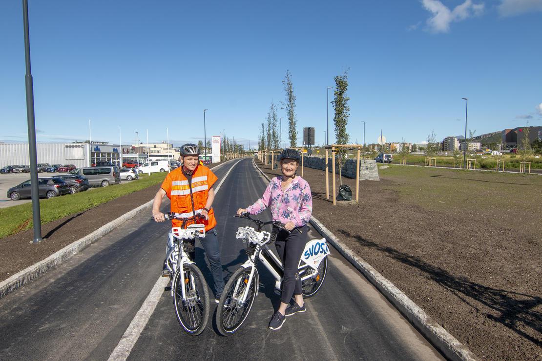 Gang - og sykkelveier