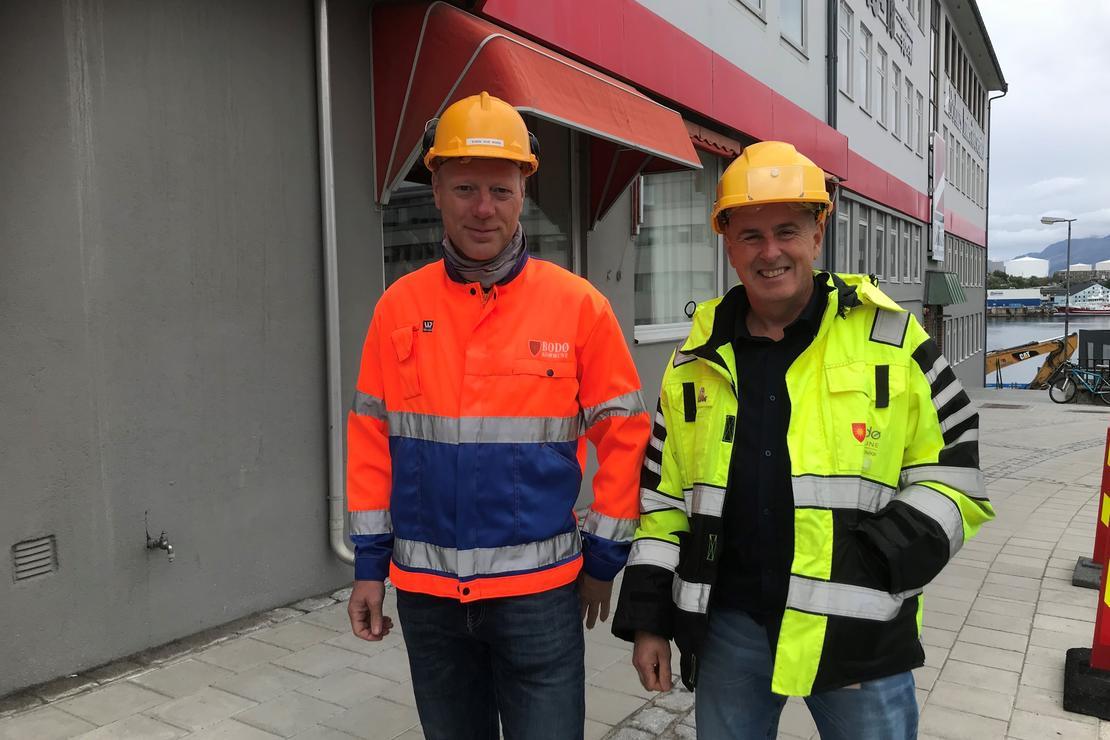 Svein Ove Moen og  Knut Olaisen