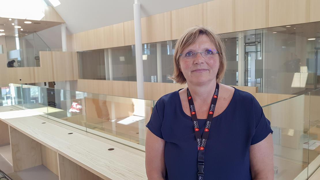 Kjersti Rongved, flyttekoordinator.