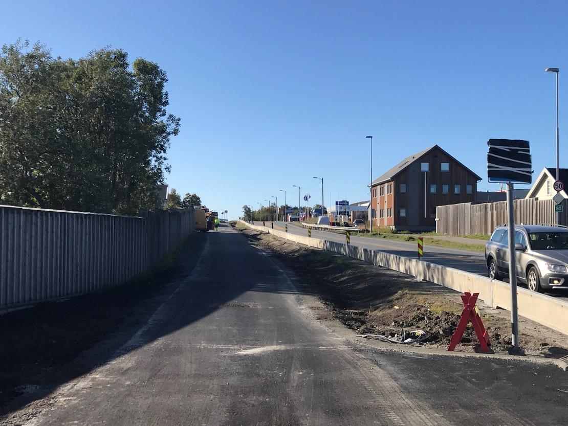 Gang og sykkelvei Bertnes