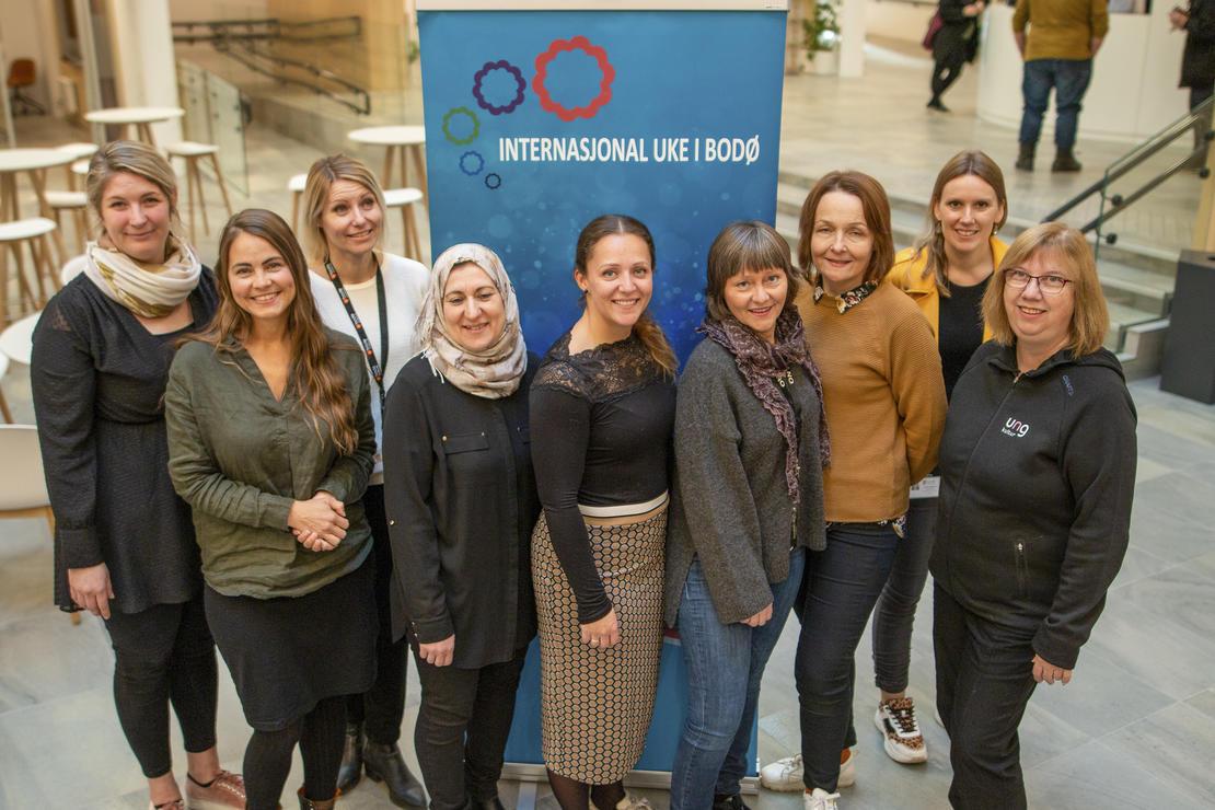 Arbeidsgruppa for Internasjonal uke i Bodø 2019