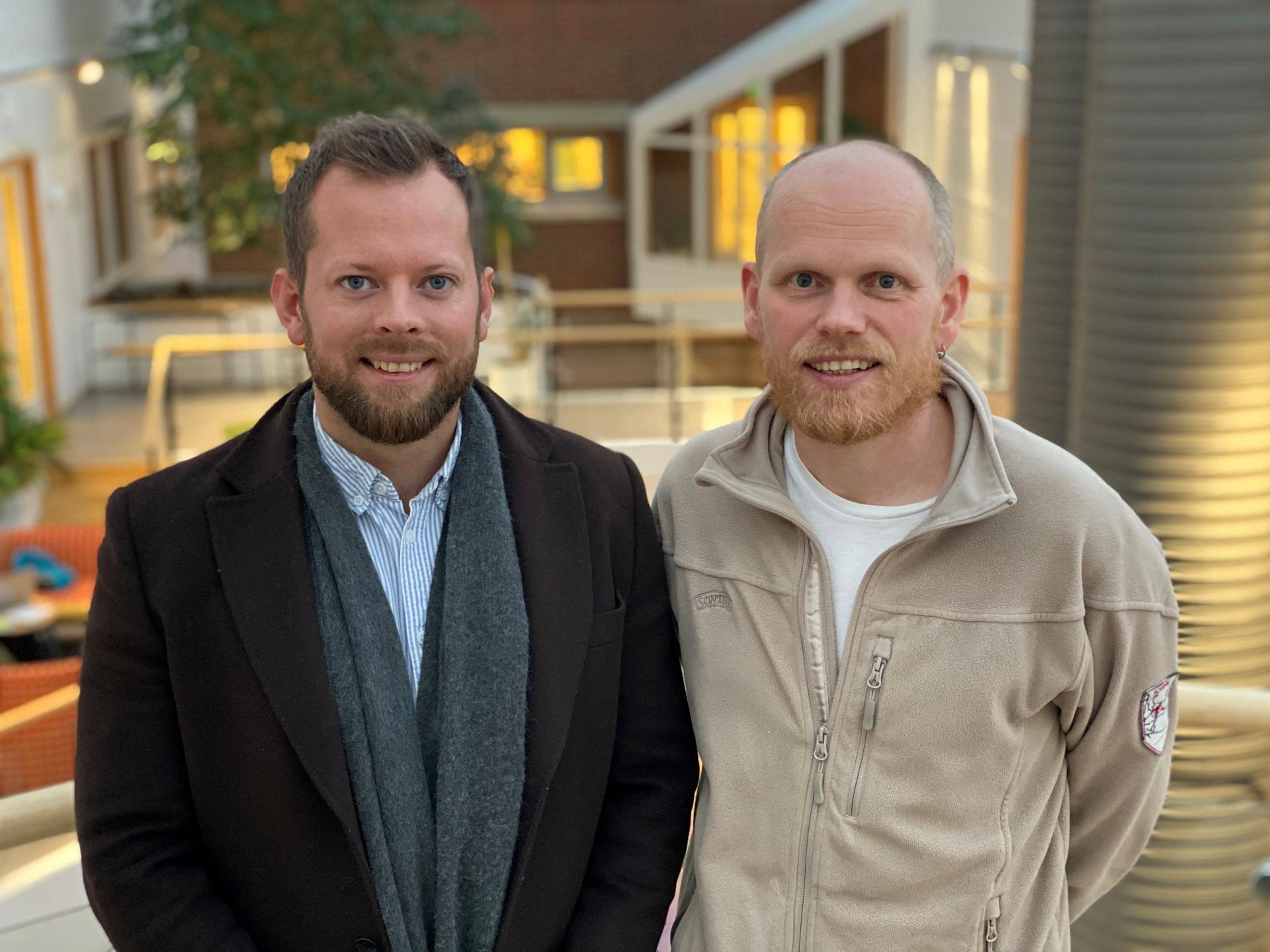 Tor og Bjørn skal 3D visualisere Bodø