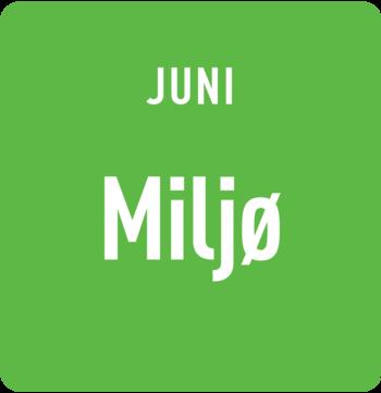 Juni: Miljø