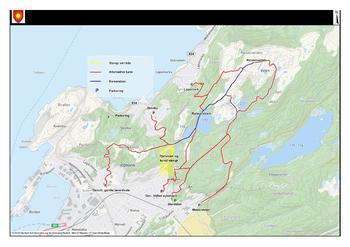 Alternative turruter til Rønvikfjellet