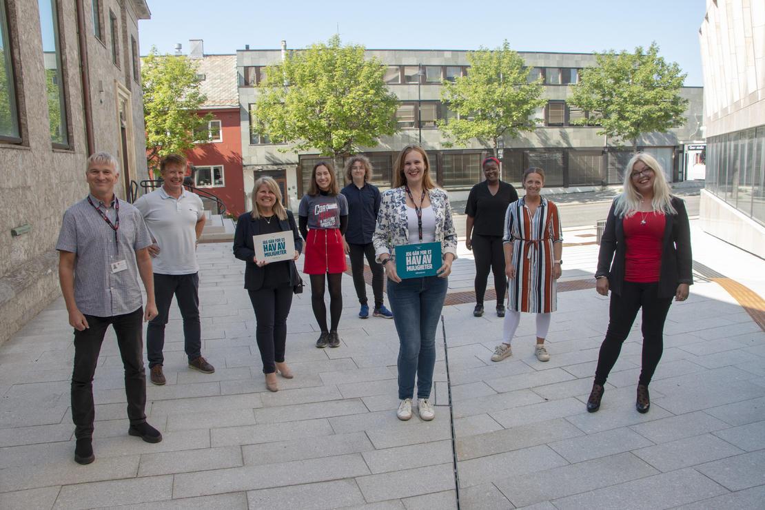 TV-aksjonskomiteen i Bodø kommune 2020 er nå i gang med jobben.