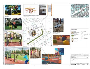 Plan Limyra treningspark