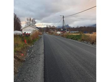 Knaplund asfaltert