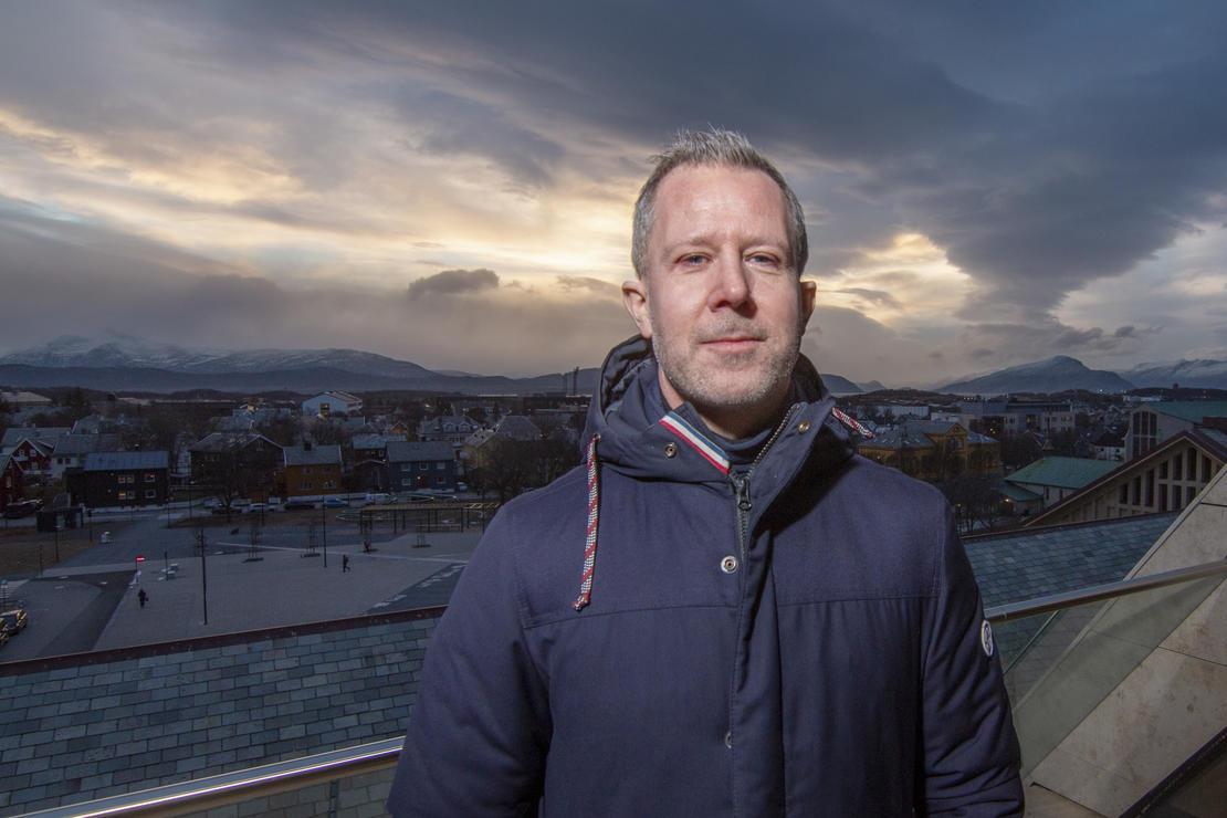 Gøran Raade-Andersen, folkehelsekoordinator i Bodø kommune. Foto: Per-Inge Johnsen