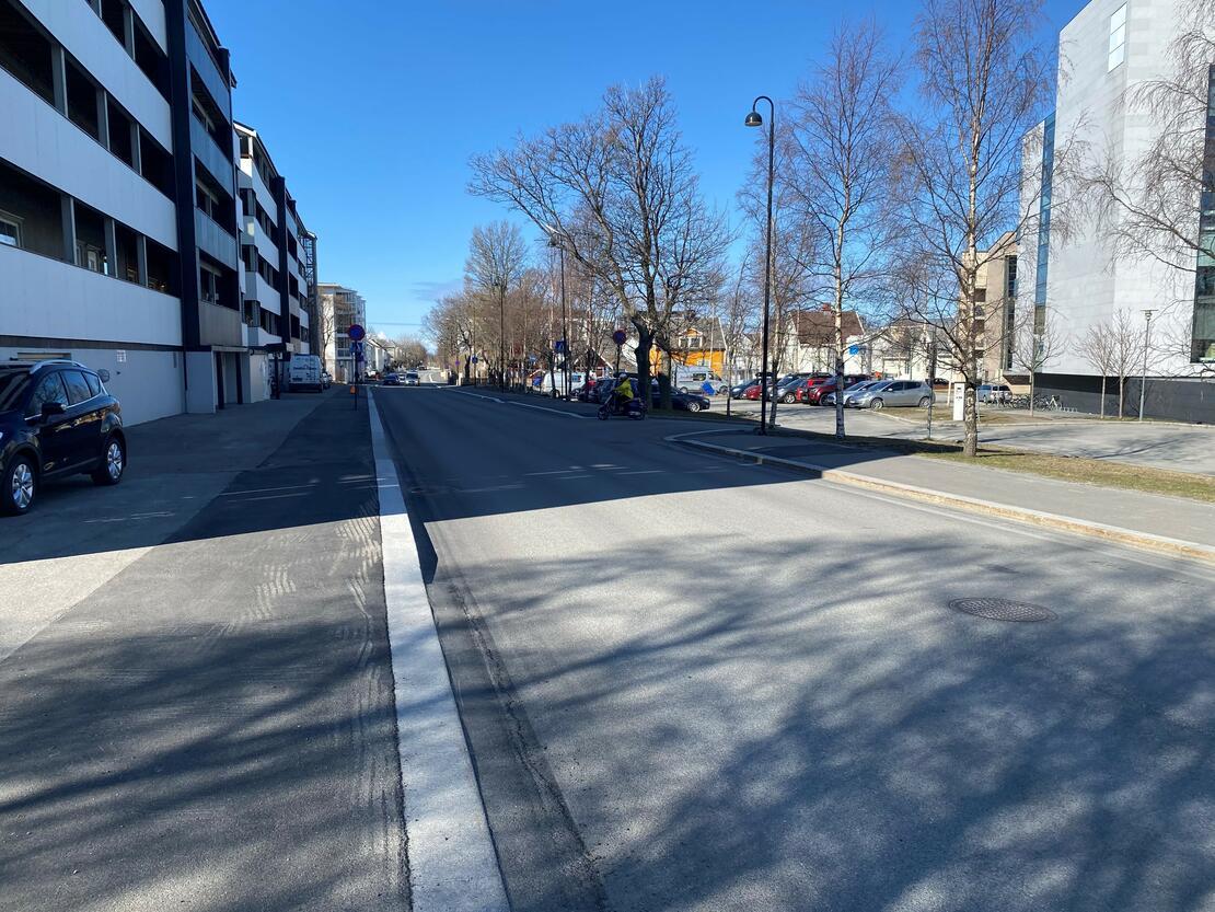 Parkveien ferdig