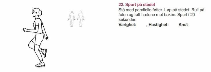 Spurt - Alfabet styrketrening