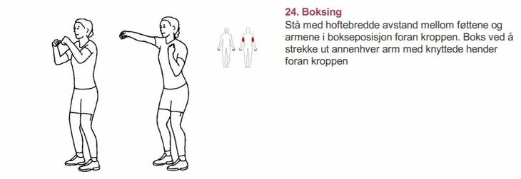 Boksing - Alfabet styrketrening