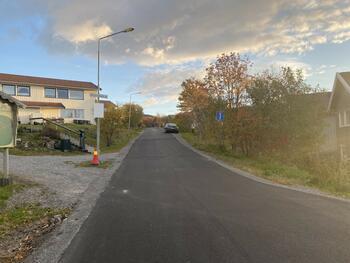 Amund Hellands vei på Hunstad